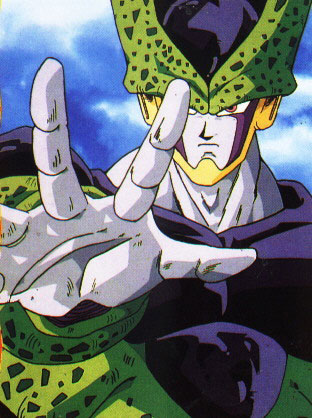 A, B, C personajes de anime Cell1